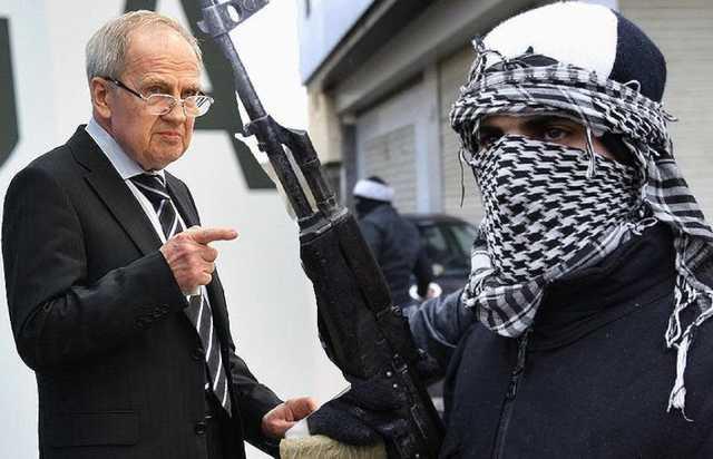 Дочь председателя КС оказалась связана с террористами