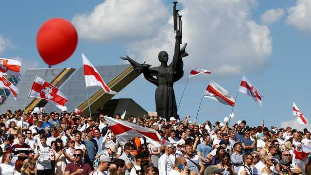 Минская милиция готова применять оружие на протестах
