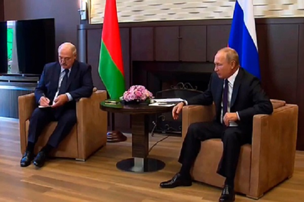 Кремль обнародовал повестку встречи Путина и Лукашенко