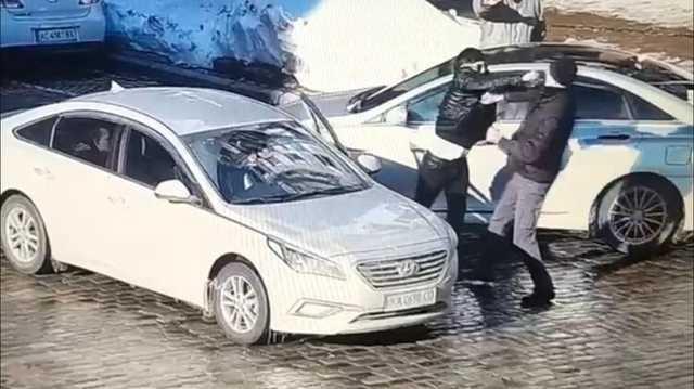 Стало известно, кого в центре Киева убил двумя ударами таксист
