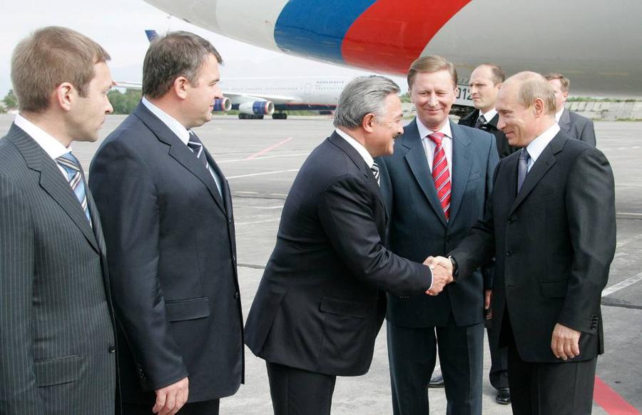 Президент России Владимир Путин на Камчатке, 2007 год. Фото © ТАСС / Михаил Климентьев